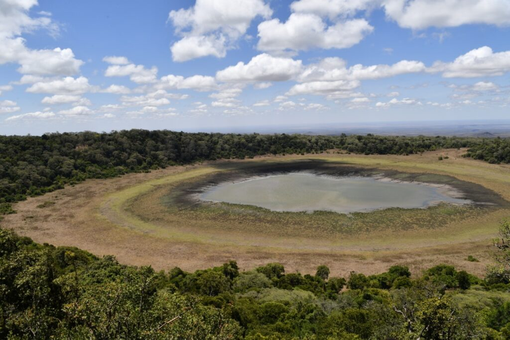 Lake Paradise on Marsabit National park